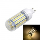 Marsing G9 12W LED Light Corn Lampen-warmes Weiß 1200lm 3000K 69-SMD 5050 - Weiß (AC 220 ~ 240V)