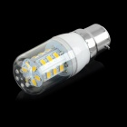 JRLED B22 5W LED Corn Lamp Warm White 3200K 100lm 24-SMD 5730 - White + Yellow (AC 220~240V / 5PCS)