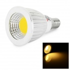 LeXing Lighting E14 5W COB LED Spotlight Warm White 3500K 280lm - White + Silver (AC 85~265V)
