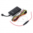 YF02AG Car GPS / GPRS Anti-theft Positioning Tracker w/ SIM - Black