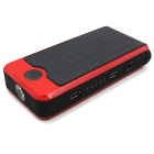 Minifish Multifunction Car Automobile Emergency 10000mAh Start Power Kit - Red (12V)