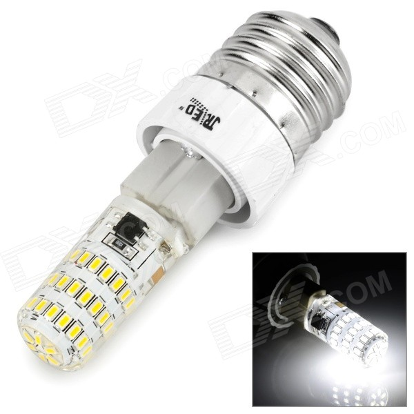 JR-LED G9 5W 7000K 400lm SMD 3014 White Lamp w/ E27 Adapter (220V)
