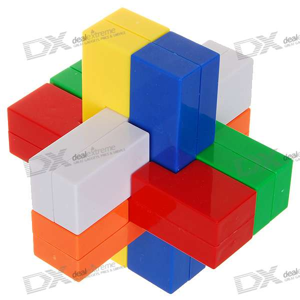 Colored Plastic KongMing Puzzle (Chinese Illustration Included) free shipping bf1ad95z bfiad95z fuel injection pump suit for changfa changchai and any chinese brand