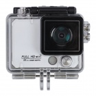 "X5 Wi-Fi FHD 2K 1/3"" CMOS 12MP Sports Camera DV w/ 2"" LCD / 170 Degree Wide Lens - White"