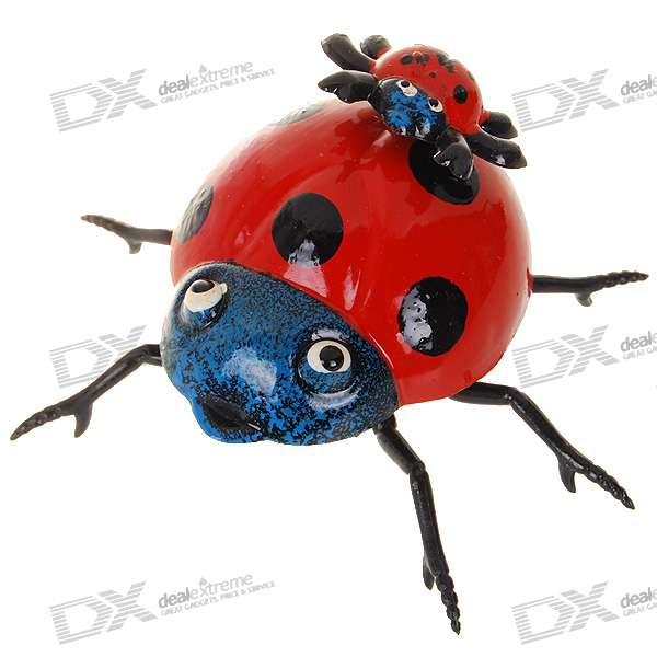 Ladybug Shaped Fridge Magnet - Mid (Color Assorted)Magnets Gadgets<br>Vivid design - A brilliant decoration for your refrigerator<br>