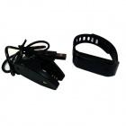 "TW07 0.91"" Bluetooth 4.0 Smart Bracelet Call Reminder / Sleep Monitoring / Activity Tracker - Black"