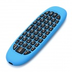 c120 C600 Wireless Air Mouse Keyboard - Light Blue + Black