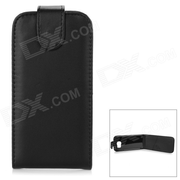 PU + PC Case Cover w/ Card Slot for Samsung S6 G9200 / G9208 - Black