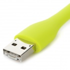 Portable Convenient 2-in-1 USB & Micro USB 1W White Light 6000K LED Light Lamp - Green