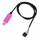6-pin Cable USB a TTL adaptador