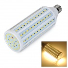 E27 25W 5730 SMD 132-LED 3000K 2400lm blub branco morno (220 ~ 240V)