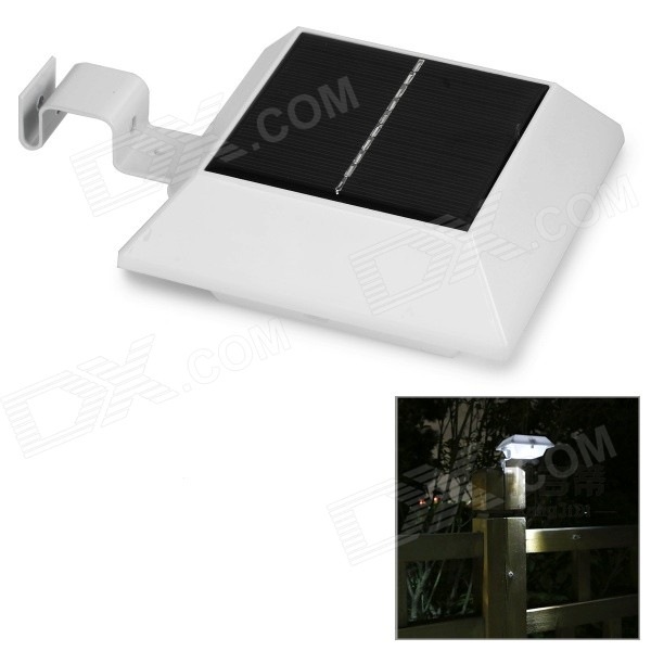 0.8W Waterproof Solar Powered Human Body Induction 30lm White Lamp
