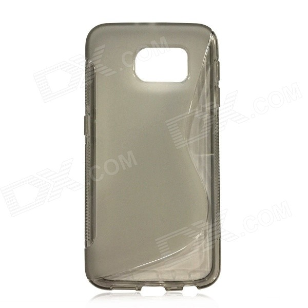 Protective S-Pattern TPU Back Case for Samsung Galaxy S6 - Grey