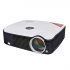 PH5 2500lm 1080P LCD Full HD Home Theater LED Projector w/ HDMI / VGA / AV / USB - White (EU Plug)