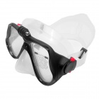 Fat Cat Scuba Diving Mask for GoPro, SJ5000, Xiaoyi - Black + White