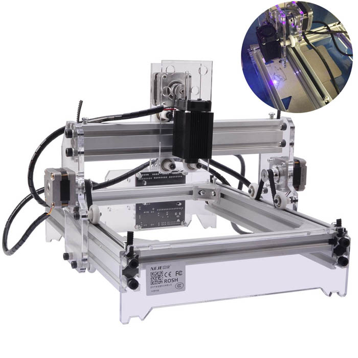 NEJE 500mW Desktop Violet Laser Engraving Machine Printer DIY Kit