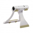 Universal Plastic Adjustable Desktop Stand Holder - White