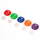 NXP Ntag213 Chip 13.56MHz NFC Tag Stickers - Red + Multicolor (5PCS)
