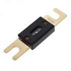 100A Fork Plate Style Fuse for Car Amplifier - Black + Golden