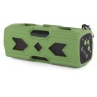 Portable Outdoor Wireless Bluetooth V4.0 NFC Mini Speaker w/ Power Bank for IPHONE + More - Green