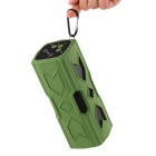 Bluetooth V4.0 NFC Mini Speaker w/ Power Bank for IPHONE - Green