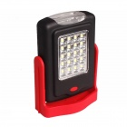 300lm 2-Mode White LED Mini Outdoor Flashlight / Camping Lantern / Table Lamp w/ Hanger (3xAAA)