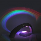 320lm 3000K 2-Mode Rainbow-in-Room 5-LED Amazing Rainbow Projector - White (4 x AAA)
