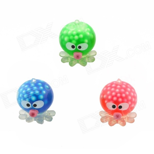 Pressure Reducing Stress Reliever Octopus Toy - Multicolor (3PCS)