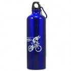 Bicycle Cycling Outdoor Sports Water Bottle Kettle - Blue (750ML)