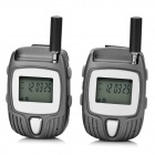 "F-700 1.2"" 462~5625MHz 22-Channel Walkie Talkie - Gray"