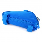 ROSWHEEL Outdoor Cycling Bike Top Tube Triangle Bag - Sky Blue