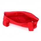 ROSWHEEL Outdoor Cycling Bike Top Tube Triangle Bag - Red