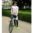 MOON CX-001 Men's Cycling Jersey + Pants Set - Multicolored (M)