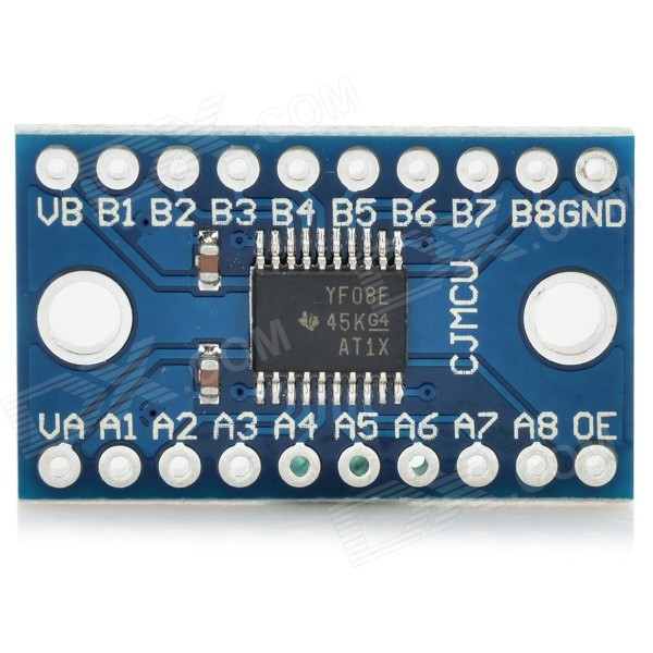 TXS0108E High Speed Full Duplex 8-CH Level Switch Module Board - Blue