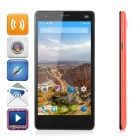 "G4 MTK6732 Android 4.4 Quad-core 4G LTE Phone w/ 5.5"" IPS qHD, 1GB RAM, 8GB ROM, 5.0MP - Black + Red"