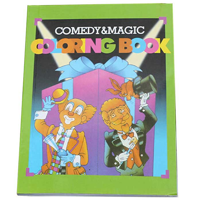 Festa Magic Toy Joke Trick - Coloring Book Magia