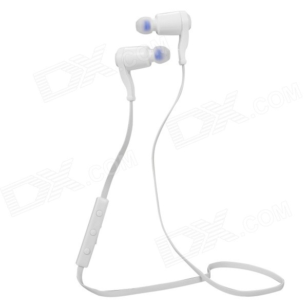 Atongm E2 Bluetooth In-Ear Earphone w/ Mic for IPHONE, Android - White
