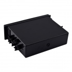 Single Drawer Style Replacement ABS Car Organizer Storage Box - Black
