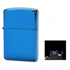 MOXO USB Rechargeable Flameless Electric Arc Windproof Cigar Cigarette Lighter - Blue
