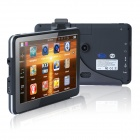 "7"" HD GPS Navigator Car DVR Camcorder w/ Bluetooth / FM / 8GB / EU Map - Black (US + Canada)"