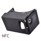 "NEJE DIY Google Cardboard Virtual Reality 3D Glasses w/ NFC for 3.5~6"" Cellphones - Black"