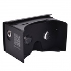 "NEJE DIY Cardboard Virtual Reality 3D Glasses w/ NFC for 3.5~6"" Cellphones - Black"