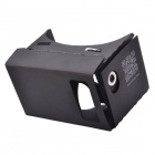 NEJE Cardboard Virtual Reality 3D Glass for 3.5-6 Phone - Black