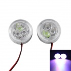 Car Decorative 480lm 6500K White + RGB Light Emergency Strobe Flash Light w/ Controller (DC12V)