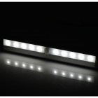 600mW 0.2lm White 5300K IR Motion Sensor LED Wall Light - Silver (6V)
