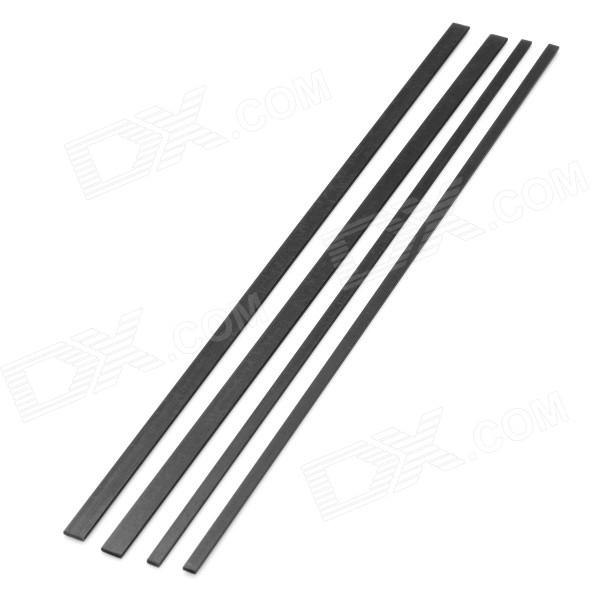 1-2s DIY Carbon Fiber Square Plate Board for Model Airplane (4PCS)