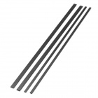 1-2s DIY 1x3x200mm, 1x5x200mm Carbon Fiber Square Plate Board for Model Airplane (4 PCS)