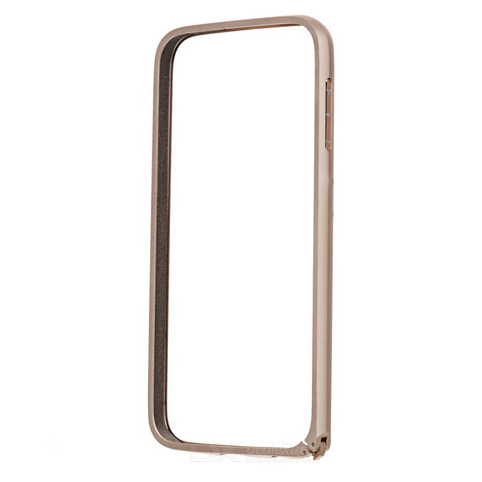 Bumper Frame Case w/ Lock Catch for Samsung S6 - Champagne Gold