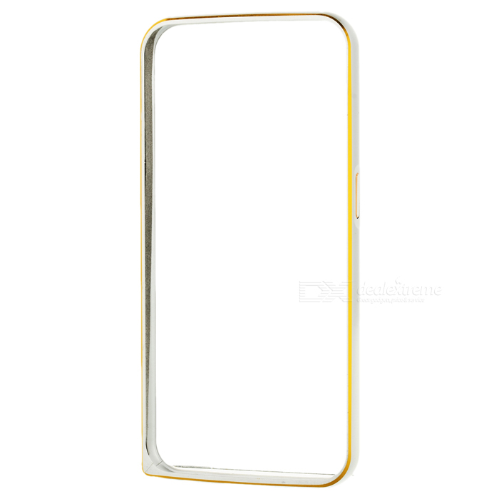 Aluminum Alloy Bumper Frame Case w/ Lock Catch for Samsung S6 - Silver