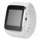"Z30 1,54 "" Capacitive Touch Curved Watch Phone Tela w / WhatsApp , pedômetro , Monitor de sono - White"